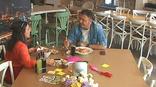 Chef Ayvaz Akbacak ve Uzman Diyetisyen Ayşegül Bahar öğle yemeklerini cafe netd'de yedi